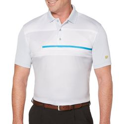 Jack Nicklaus Mens Chest Stripe Polo Shirt