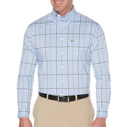 Jack Nicklaus Mens 4 Color Plaid Long Sleeve Shirt