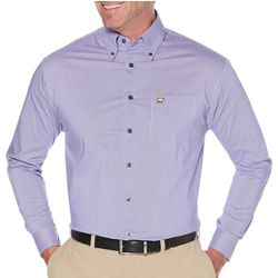 Jack Nicklaus Mens 2 Color Plaid Print Long Sleeve Shirt