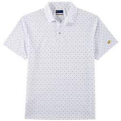 Jack Nicklaus Mens Mini Diamond Polo Shirt