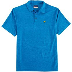 Jack Nicklaus Mens Space Dye Short Sleeve Polo Shirt