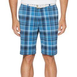 Jack Nicklaus Mens Madras Plaid Golf Shorts
