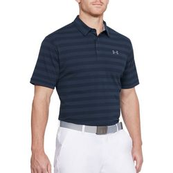 Under Armour Mens Scramble Stripe Polo Shirt