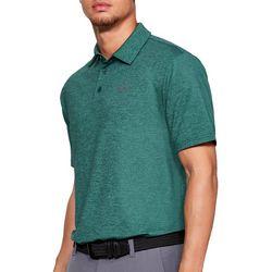 Under Armour Mens UA Playoff 2.0 Heathered Polo Shirt