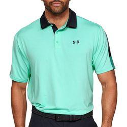 Under Armour Mens UA Playoff 2.0 Sleeve Stripe Polo Shirt