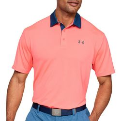Under Armour Mens UA Playoff 2.0 Arm Stripe Polo Shirt