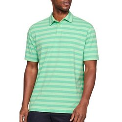 Under Armour Mens UA Scramble Stripe Polo Shirt