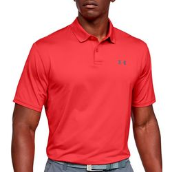 Under Armour Mens UA Performance Textured Golf Polo Shirt
