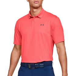 Under Armour Mens UA Performance Textured Golf Polo Shirt