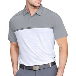 Under Armour Mens Calibrate Colorblock Polo Shirt