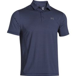 Under Armour Mens Stripe Golf Playoff Polo Shirt