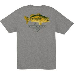 Guy Harvey Mens Combat Heathered T-Shirt