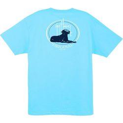 Guy Harvey Mens Throw It Crew T-Shirt