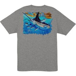 Guy Harvey Mens Mosaic T-Shirt
