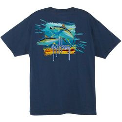 Guy Harvey Mens Tuna Splash T-Shirt