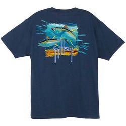 81bd2912c9f6d Guy Harvey Mens Tuna Splash T-Shirt