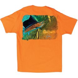 Guy Harvey Mens Vela Solo T-Shirt