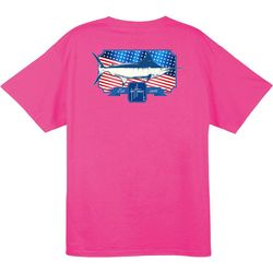 Guy Harvey Mens Spangled Pocket T-Shirt