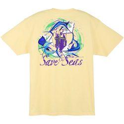 Guy Harvey Mens Save Our Seas T-Shirt