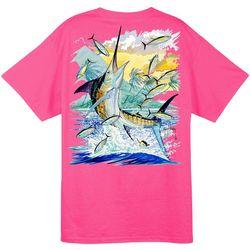 Guy Harvey Mens Island Marlin T-Shirt