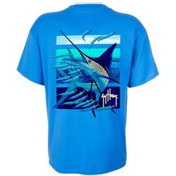 Guy Harvey Mens Ballyhoo Marlin T-Shirt