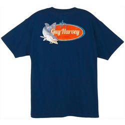 Guy Harvey Mens Speckles Short Sleeve T-Shirt