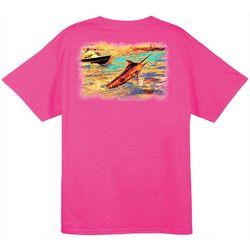 Guy Harvey Mens Mister Blank Short Sleeve T-Shirt