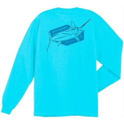 Guy Harvey Mens Stall Long Sleeve T-Shirt