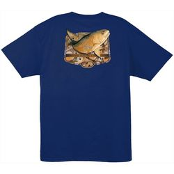 Guy Harvey Mens Acoustic Short Sleeve T-Shirt