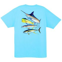 Guy Harvey Mens Foursome Short Sleeve T-Shirt
