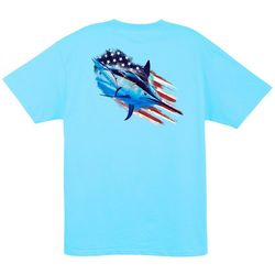 Guy Harvey Mens American Guy Short Sleeve T-Shirt