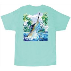 Guy Harvey Mens Island Comp T-Shirt