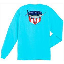 Guy Harvey Mens Down Home Long Sleeve T-Shirt