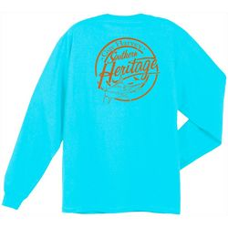 Guy Harvey Mens Southern Heritage Long Sleeve T-Shirt