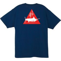 Guy Harvey Mens Hazard Logo T-Shirt