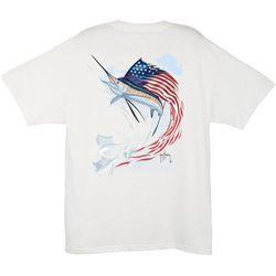 Guy Harvey Mens Star Spangle T-Shirt
