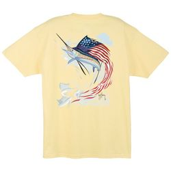 Guy Harvey Mens Star Spangle T-Shirt