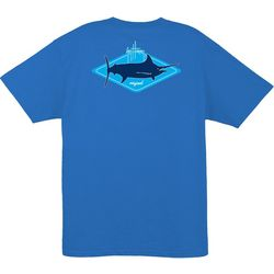 Guy Harvey Mens Kite Logo Short Sleeve T-Shirt