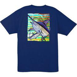 Guy Harvey Mens Palm Lines T-Shirt