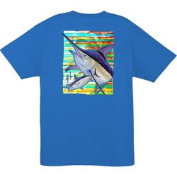 Guy Harvey Mens Lines T-Shirt