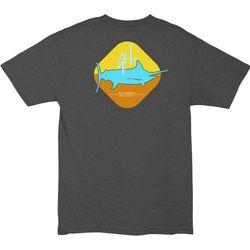Guy Harvey Mens Heathered Stop Sign T-Shirt