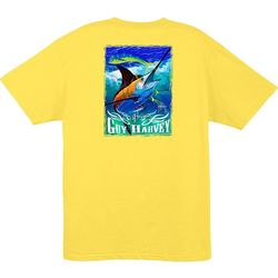 Guy Harvey Mens Marlin & Dolphin T-Shirt