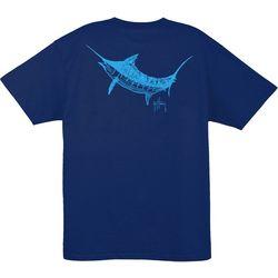 Guy Harvey Mens Flight School Crew T-Shirt