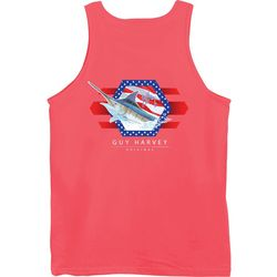 Guy Harvey Mens Resolution Marlin Tank Top