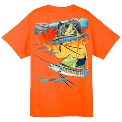 Guy Harvey Mens Halo Pocket T-Shirt