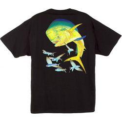 Guy Harvey Mens Bull Dolphin T-Shirt
