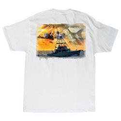 Guy Harvey Mens Cruisin' Short Sleeve T-Shirt