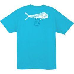 Guy Harvey Mens Streak Solid T-Shirt