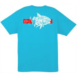 Guy Harvey Mens Ginger Solid T-Shirt