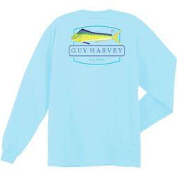 Guy Harvey Mens Rayfin Long Sleeve T-Shirt